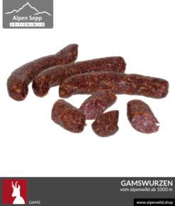 Gamswurzen Alpenwild Wurst kaufen