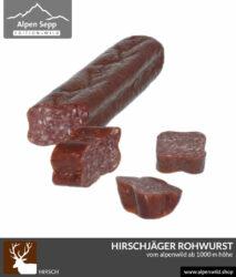 Hirschjäger Rohwurst vom Alpenwild kaufen
