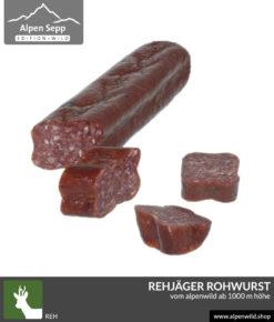 Rehjäger Alpenwild Rohwurst kaufen