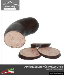 Appenzeller Kümmelwurst nach Schweizer Rezept