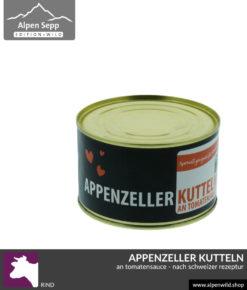 Appenzeller Kutteln an Tomatensauce nach schweizer Rezeptur