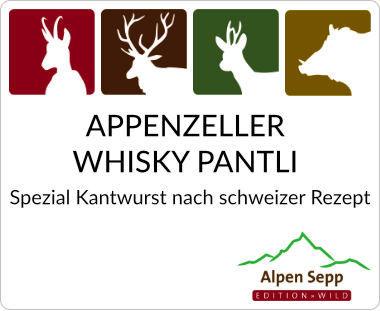 Appenzeller Whisky Pantli nach schweizer Rezept