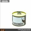 Hirschfleischkäse (Hirschleberkäse) in Konserve