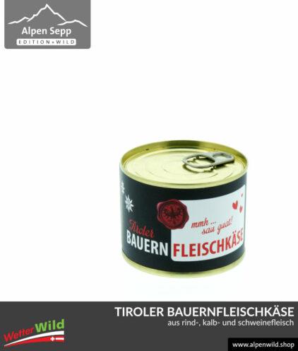 Tiroler Bauernfleischkäse Bauernlebenkäse