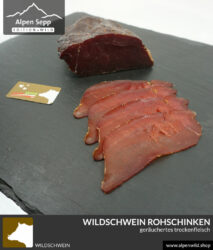 Wildschwein Rohschinken - Trockenfleisch kaufen