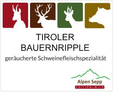 Tiroler Bauernripple - geräuchertes Ripple vom Schwein