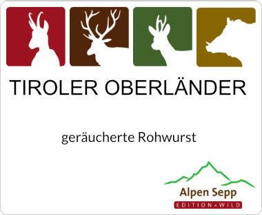 Tiroler Oberländer Rohwurst
