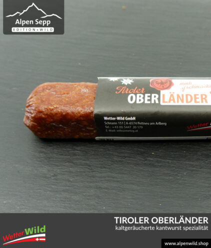 Tiroler Oberländer Kantwurt Spezialität