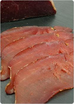 Wildschwein Rohschinken - Trockenfleisch vom Schwarzwild