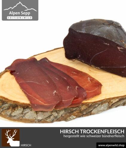 Hirsch Trockenfleisch