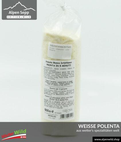 Weiße Polenta aus Wetter's Spezialitäten Welt