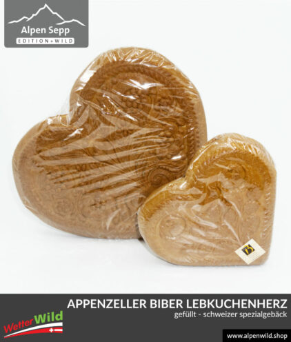 Appenzeller Biber, gross und klein, schweizer Spezialität
