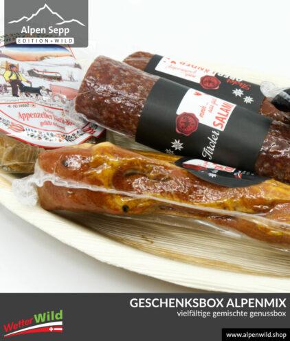 Geschenkbox Alpenmix
