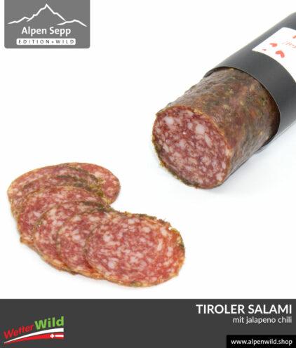 Tiroler Salami mit Jalapeno Chili