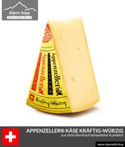 Appenzeller® Käse kräftig-würzig aus der Schweiz - Swiss Cheese