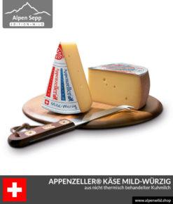 Appenzeller® Käse mild-würzig aus der Schweiz - Swiss Cheese