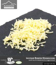 Lechtaler Reibkäse Käsemischung | Lechtaler Naturkäserei in Tirol | 100% Heumilch | 45% F.i.T.